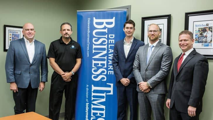 Delaware Business Times Cyber Security Round Table Participants Photo