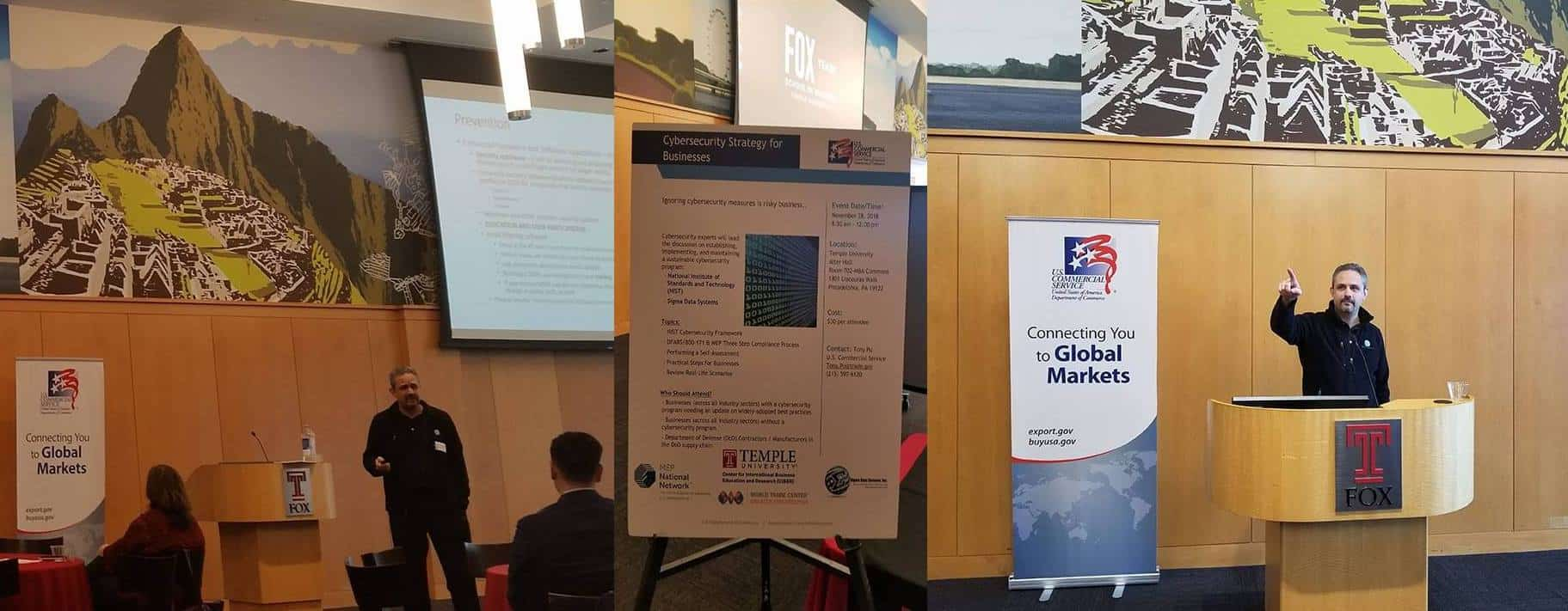 US Commercial Service NIST Cybersecurity Event Photo