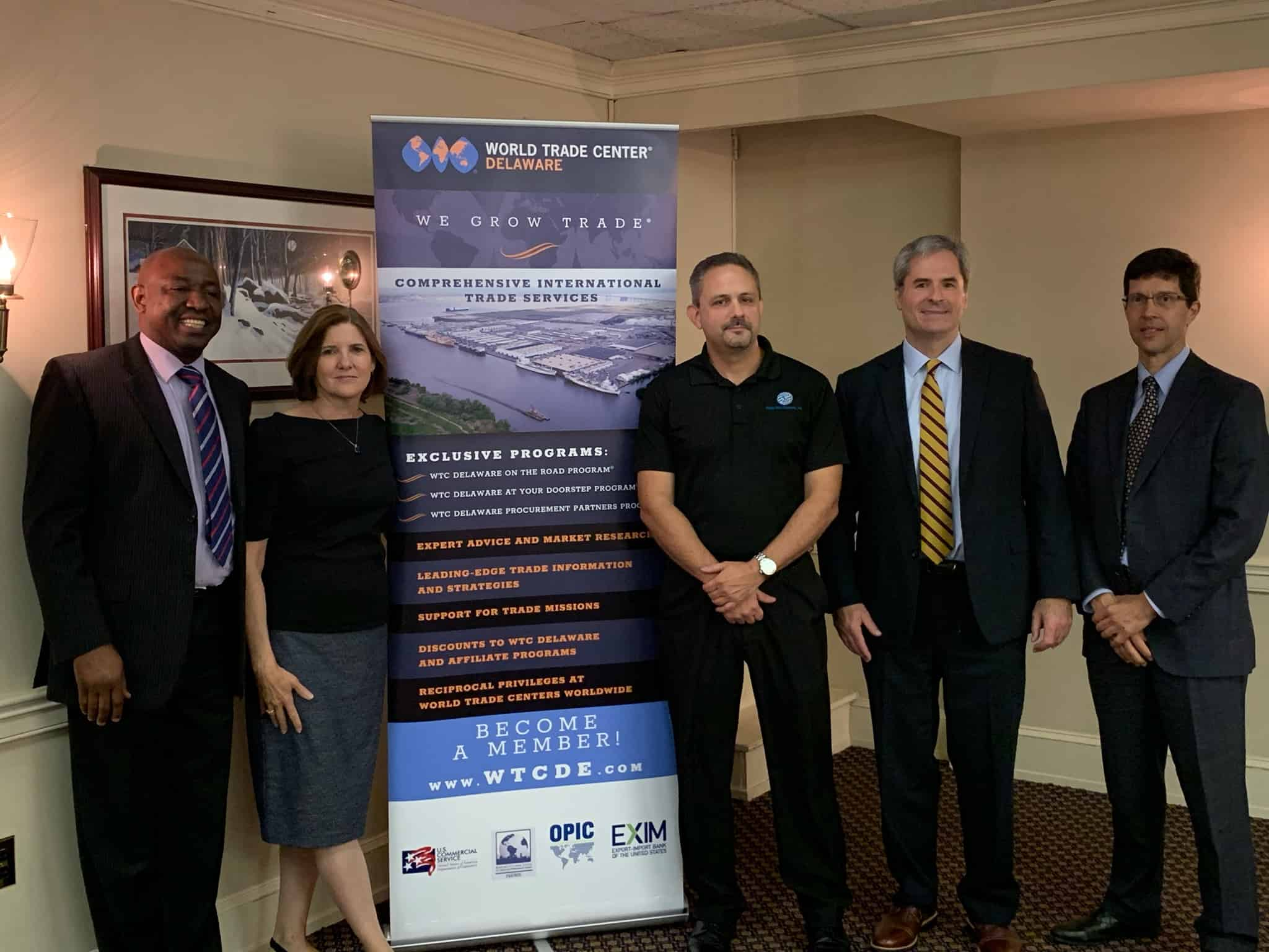 World Trade Center Delaware GDPR Event Expert Speakers Group Photo